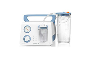 Lateral Medical Dominant Flex Surgical Airway Suction Portable Version with Medela Suction Jars