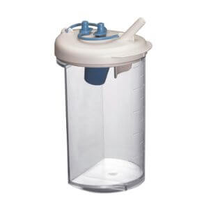 Lateral Medical Surgical Airway Suction - Clario Airway Suction Pump Accessories - Canister Set Jar for Clario Clario Toni